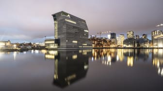The new MUNCH in Bjørvika set to open this fall. Photo: Adria Goula
