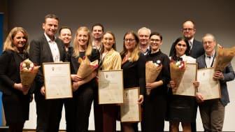 Alla vinnare Quality Innovation Award prisutdelning 3 feb 2020