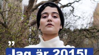 Atoosa Farahmand från Malmö skapade #jagär2015