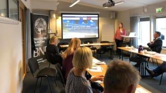 Tidigt i ottan varje torsdag samlas företag i Kalmar för att göra affärer