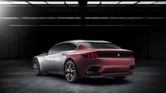 Peugeot Exalt konceptbil bak_sharkskin