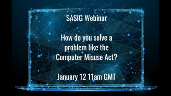 Webinar: How do you solve a problem like the Computer Misuse Act?