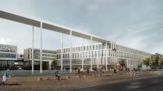 Riem Arcaden in München (©vizoom für Allmann Sattler Wappner Architekten)