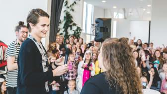 Bild från Tubecon Tour på Helsingborg Arena 2016.