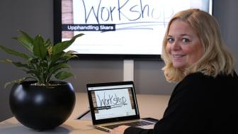 Workshopen hålls digitalt med ett begränsat antal deltagare. - Det är alltid en extra utmaning att köra digitalt men den här frågan är för viktig för att vänta med, tycker Helena Nyman Friberg.