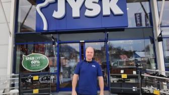 Butikksjef JYSK Mjøndalen, Lars Bakk-Røstad