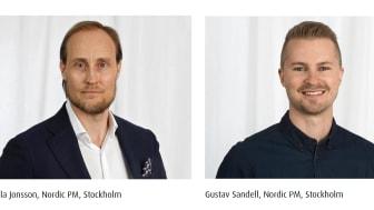 Nordic PM välkomnar två nya medarbetare