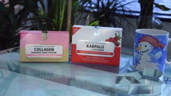 Tri Tolonen Collagen ja Karpalo+C