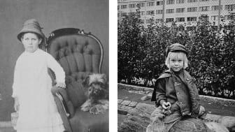 Hur har barnen och deras värld skildrats i det sena 1800-talets ateljéporträtt och i 70-talets dokumentärfotografi? Hallwylska museet bjuder in till föredrag 1 mars.