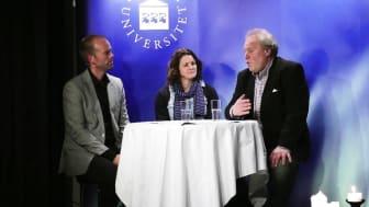 Caroline Jönsson och John Jansson intervjuas av Mattias Lundberg #umeå #psykologiåtfolket
