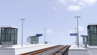 The project template from ALLPLAN for the rail platform design contains numerous features and templates that support the entire workflow of design, model creation, evaluation, documentation and data transfer.