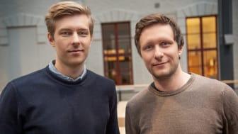 Joel Torkelsson och Magnus Hornef, grundare av Metry // Bild: Chalmers Ventures