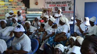 Kvinnorättsorganisationen WANET/WIPNET har kämpat länge för att våld i nära relation ska bli olagligt i Liberia.