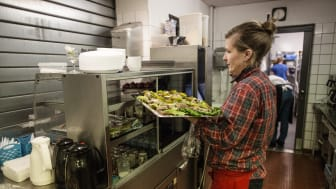Mændenes Hjem køkkenpersonale