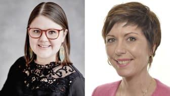 Emma Hult (mp) och Cecilie Tenfjord-Toftby (m) deltar vid Jämnt på jobbets seminarium i Almedalen.