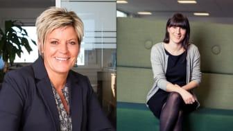 Från vänster: Suzanne Grønfeldt, Anna Fråne