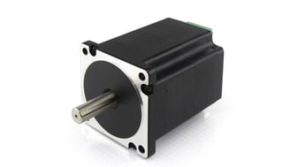 High-performance DC servo motor with integrated motor controller