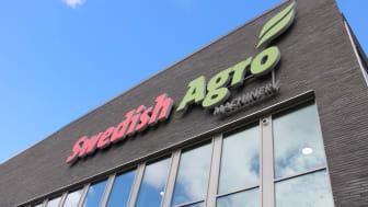 Maskinaffären i Swedish Agro firar fem år.