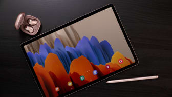 Tab S7+ and Buds Live