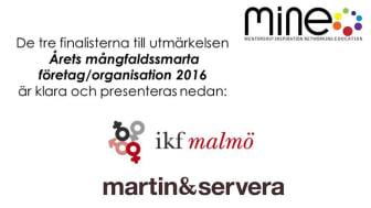 Martin & Servera nomineras för sitt mångfaldsarbete