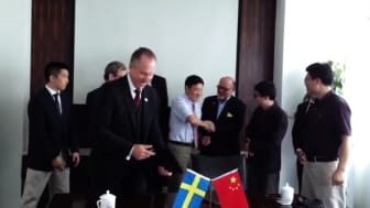 Plantagon signs memorandum of understanding with the Tongji University in Shanghai (video)
