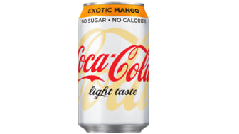 Coca-Cola light® kommer med ny design och mangosmak