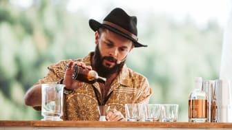 Raphael Redant från Stich Bar i Sydney, Australien, vann Hernö Gin Cocktail Awards 2019.
