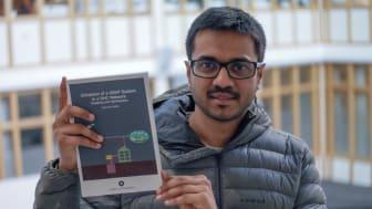 Anjan Rao Puttige, Företagsforskarskolan och Institutionen för tillämpad fysik och elektronik, disputerar den 19 oktober. Foto: Ingrid Söderbergh