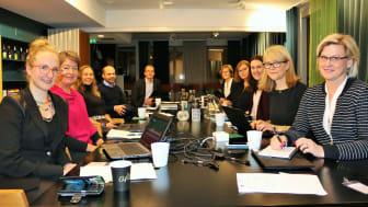 Första mötet för gruppen som ska starta igång fullkornsprojektet.
