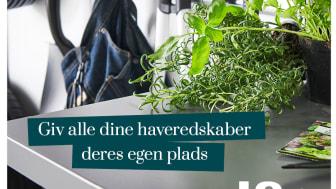 Elfa_smart opbevaring til haveredskaberne