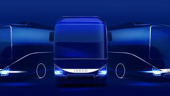 IVECO BUS på Busworld 2017.