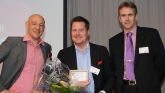 Vinnare Årets Grundare Väst 2010 Founders Awards, Lars Wingefors Game Outlet Europe