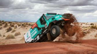 Pallplats för Team De Rooy & Goodyear i Dakarrallyt