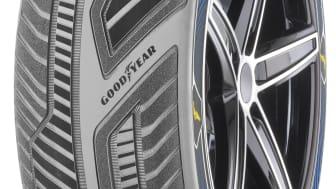 Goodyear visar upp konceptdäck med avancerad sensorteknologi för autonoma bilar