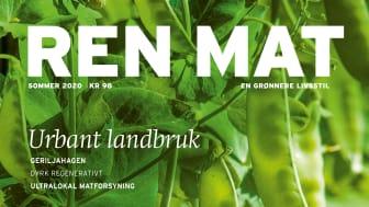 Bylandbruket hører hjemme i et bærekraftig matsystem, og sommerutgaven av Ren Mat er dedikert til bybøndene. Foto: Nadin Martinuzzi