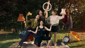 Artistgruppen Cirkus Tumult. Foto: Alex Hinchcliffe