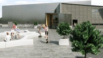 MAFs sporthall på Kronanområdet i Luleå vinner samhällsbyggnadspris