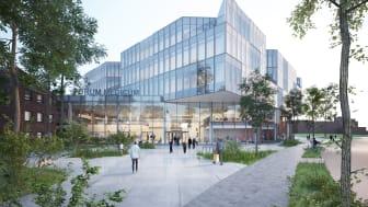 Nu byggs Forum Medicum i Lund