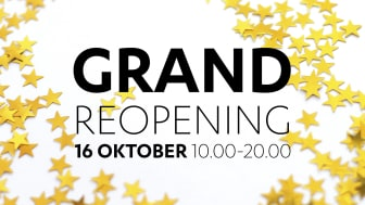 Dunkers kulturhus bjuder in till Grand Reopening