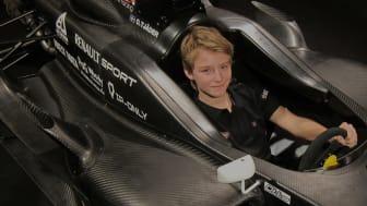 Otto Tjäder Sveriges snabbaste 14-åring – kör Formel Renault 1.6