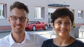 Leiten gemeinsam das isfn: Prof. Dr. Esin Bozyazi und Prof. Dr. Lars Castellucci. Foto: Franz Motzko