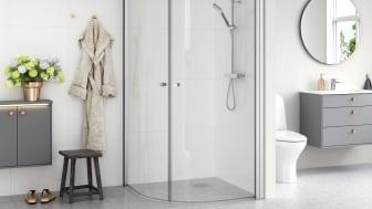 Gustavsberg Shower doors Round