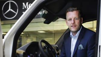 Bengt Larsson har utsetts till ny försäljningschef för Mercedes-Benz Transportbilar.