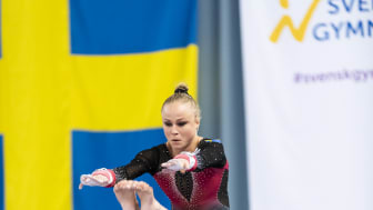 Jonna Adlerteg, SM 2018. Foto: Andreas Svensson