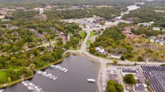 Riksbyggen säljer nybyggt på bästa terrassläge i framtidens Gustavsberg