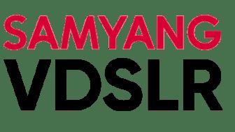 Samyang VDSLR MK2  Logo_Red & Black