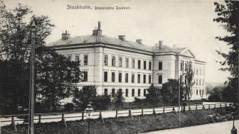 Stokholms sjukhem ga vykort