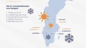 Här är Sveriges bästa e-handelskommuner