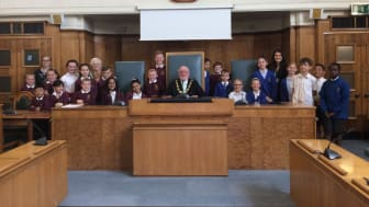 Mayor quizzed by primary school pupils