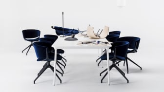 Offecct Phoenix table by Luca Nichetto
